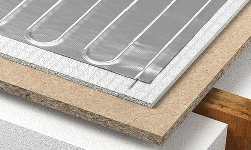 Underfloor Foil Heater System