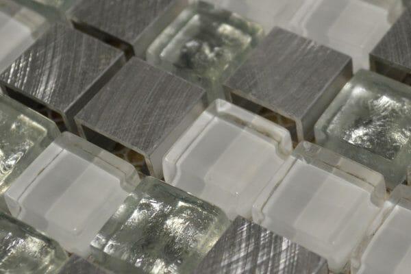 Fusion Silver 1.5 x 1.5cm (3 Close Up)
