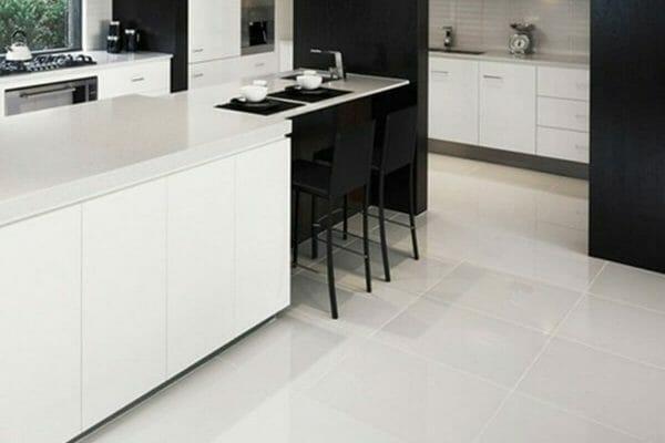 arctic white floor tile